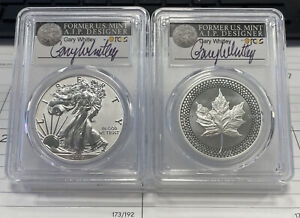 2019 PRIDE OF TWO NATIONS CANADA SET PCGS PR70 FDOI GARY WHITLEY