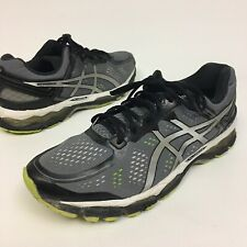 Asics Kayano 22 Men's Sz 11.5EE Eu46 Silver/Gray Running Shoes T547N Athletic