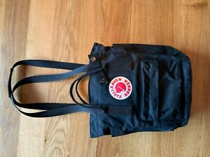 Fjällräven Kanken Totepack Mini Rucksack/Beutel schwarz