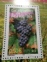 FRANCE 2004 timbre 3648, REGIONS, VIGNOBLES BEAUJOLAIS, neuf**, VF MNH STAMP