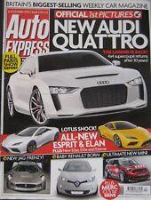 Auto Express magazine 6-12/10/2010 featuring Mercedes, BMW, Audi