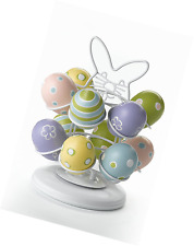 Easter Egg Carousel Eggs Holder Stand Holiday Table Easter Decor Decorations