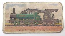 Great Western Railway Engines 16-064 Imperial Tobacco Canada Train Card 1 F073