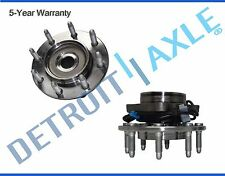 Both (2) New Front Wheel Hub and Bearing Assembly for Chevy GMC Trucks 4x4 ABS