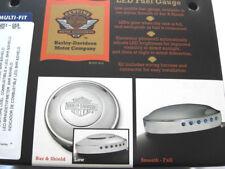HARLEY DAVIDSON Barra & Shield B&S LED Indicador De Combustible Tapa Depósito