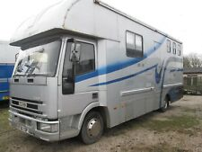1998 FORD IVECO 7.5T COACHBUILT 3 HORSEBOX WITH LOVELY LIVING.