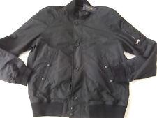 Polo Ralph Lauren Para hombres tropas Bomber Jacket Talla L Polo Negro, etiqueta precio £ 345.