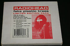 Radiohead Fake Plastic Trees Limited Edition UK Single No Poster Good + CD #2