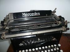 mercedes schreibmaschine g nstig kaufen ebay. Black Bedroom Furniture Sets. Home Design Ideas