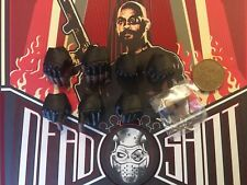 Hot Toys Suicide Squad Deadshot Gloved Hands x 7 & Pegs loose 1/6th scale