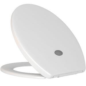 Toilettendeckel LED Klodeckel Toilettensitz Klobrille WC Sitz Absenkautomatik D7
