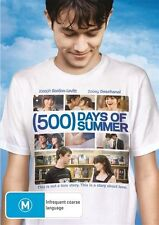 500 Days Of Summer (DVD, 2010)