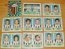 PANINI FOOTBALL CALCIATORI  1993-1994 ASCOLI SERIE B COMPLET CALCIO ITALIA