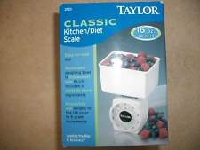 Taylor Classic Kitchen Diet Scale and Bowl New In Box