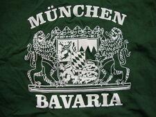 Bavaria Munich City Capitol Germany Tourist Souvenir Green T Shirt Size XL
