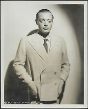 ~ Peter Lorre 1954 Original Portrait Promo Photo Casablanca Maltese Falcon Actor