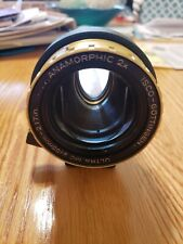 Isco Anamorphic Ultra 2x Cinemascope Lens with mounting options