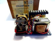 NEW IN BOX GENERAL ELECTRIC CR120F100B SENSITIVE RELAY 115 V