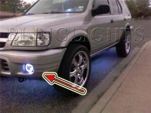 Halo Fog Lamps Angel Eye Driving Lights for 2000 2001 2002 2003 2004 Isuzu Rodeo