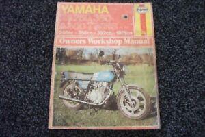 Yamaha Motorcycle Service Repair Manuals 250 For Sale Ebay