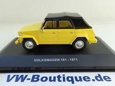 + VOLKSWAGEN VW 181 Kübel von Solido in 1:43 gelb neu S4305100