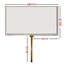 "6.1"" inch 4Pin Resistive Touch screen Panel Digitizer 148*82Mm For Gps A061Vw01"