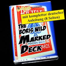 Boris Wild Marked Deck - Gezinkte Karten, Zaubern (20354)