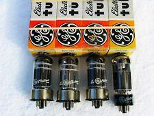 GE 6AS7GA 6AS7G 6080 power supply series regulator NIB quad metal base tubes