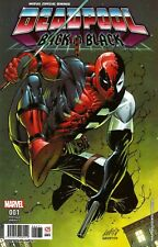 MARVEL Mexico DEADPOOL BACK IN BLACK #1 Rob Liefeld Variant