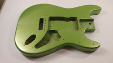 Stratocaster Strat Guitar Body Metallic Green Pool Routing Fits Squier / Fender