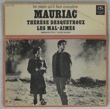 François Mauriac Thérèse Desqueyroux Les Mal Aimés Emmanuelle Rivat Claude Dauph
