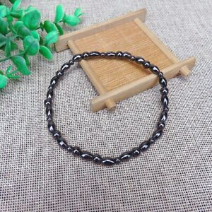 Weight Loss Round Black Stone Magnetic Therapy Bracelet Luxury Charm Bracelets