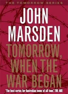 2013 Tomorrow When The War Began JOHN MARSDEN Preloved School Book