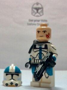 Lego Star Wars minifigure Troopers - Captain Howzer (Bad Batch)