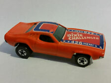 HOT WHEELS DIXIE CHALLENGER 426HEMI GENERAL LEE FLAG DUKES OF HAZZARD Vintage B