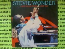 STEVIE WONDER - I just called to Say I Love You (1984 - TMG 1349 ) 17.8cm Unique