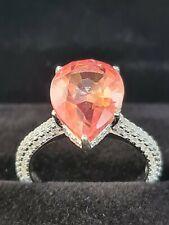 Natural Padparadscha Sapphire 7.92 Ct  fine Gemstone ringsize  N