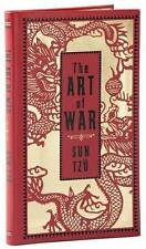 THE ART OF WAR ~ by SUN TZU MILITARY STRATEGY ~ LEATHER GIFT EDITION Pocket Size