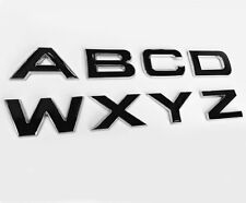 HAWKE 3D Chrome with Black Infill Bonnet / Boot Letters Range Rover.  BRAND NEW!