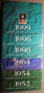 New Sealed Time Passages Commemorative Yearbook 1952 1954 1964 1990 1996 1999