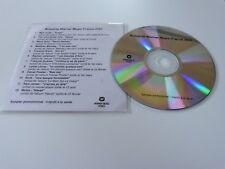 NEW ORDER - MANO SOLO - FRANCOIZ BREUT - LEMAY ! RARE  CD  PROMO FRANCE!!!!!!!