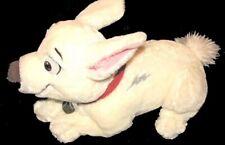 Disney BOLT White Stuffed Dog 14 inch Plush Superhero Hero Puppy