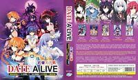 ANIME DVD ENGLISH DUBBED Date A Live Season 1-3(1-34End+2OVA+Movie)FREE SHIP L6