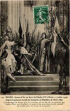CPA Reims-Jeanne d'Arc au Sacre de Charles VII a Reims (346194)