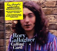 Rory gallagher CALLING CARD CD neuf emballage d'origine/sealed
