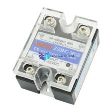 ZG3NC-360B Transparent Cover Single Phase Solid State Relay 60A 90-480V 3-32V