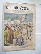 PETIT JOURNAL 1901 SUD ALGERIE DJEEMA CHARROUIN AMAN / ACCIDENT AU CIRQUE