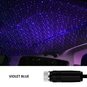 Mini LED USB Car Roof Star Night Light Projector Atmosphere Lamp Starry Sky Home