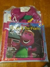 Barney and Friends Introductory Pack- Includes Plush, books- New