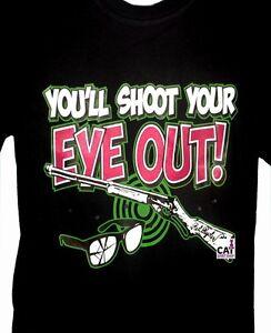You'll Shoot Your Eye Out Shirt, A Christmas Story, Funny T-Shirt, Sm - 5X